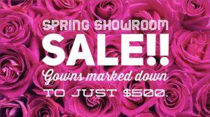 Spring Showroom Sale